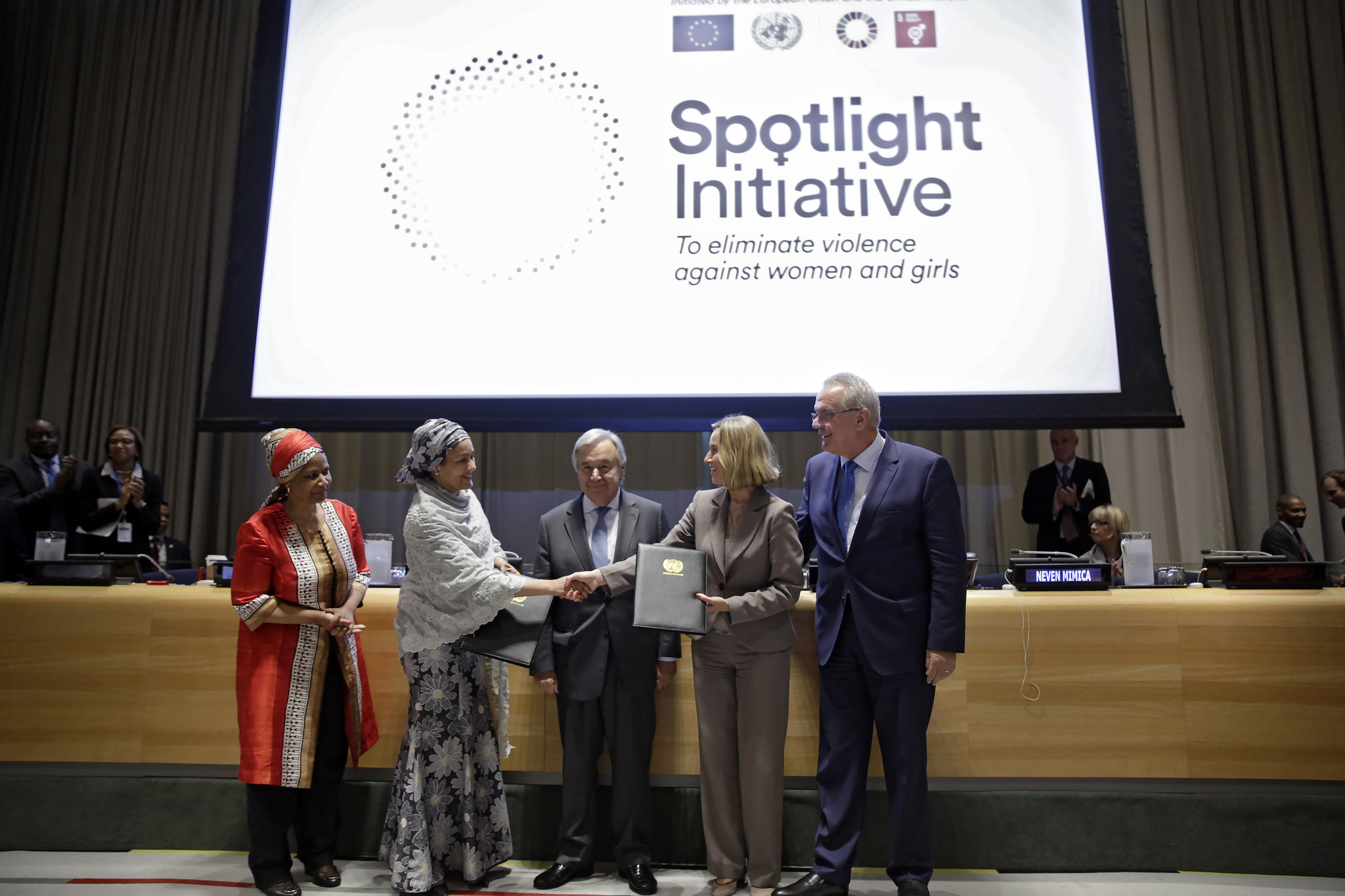 GA72 - EU and UN launch Spotlight Initiative to eliminate violence against women and girls_flickr