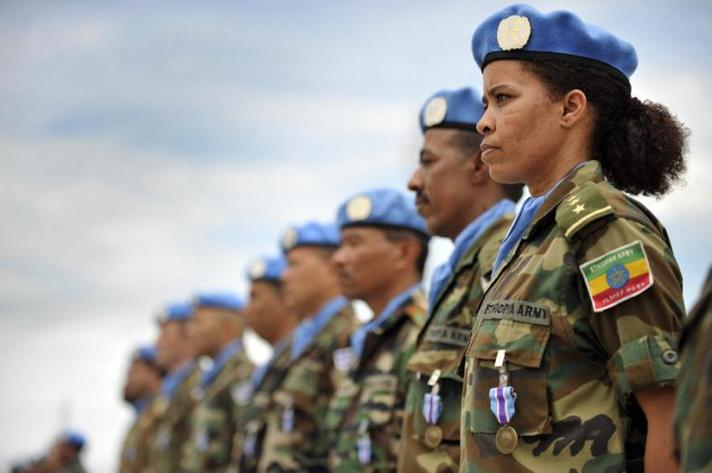 International security and peacekeeping:  what role for the United Nations' Blue Helmets?