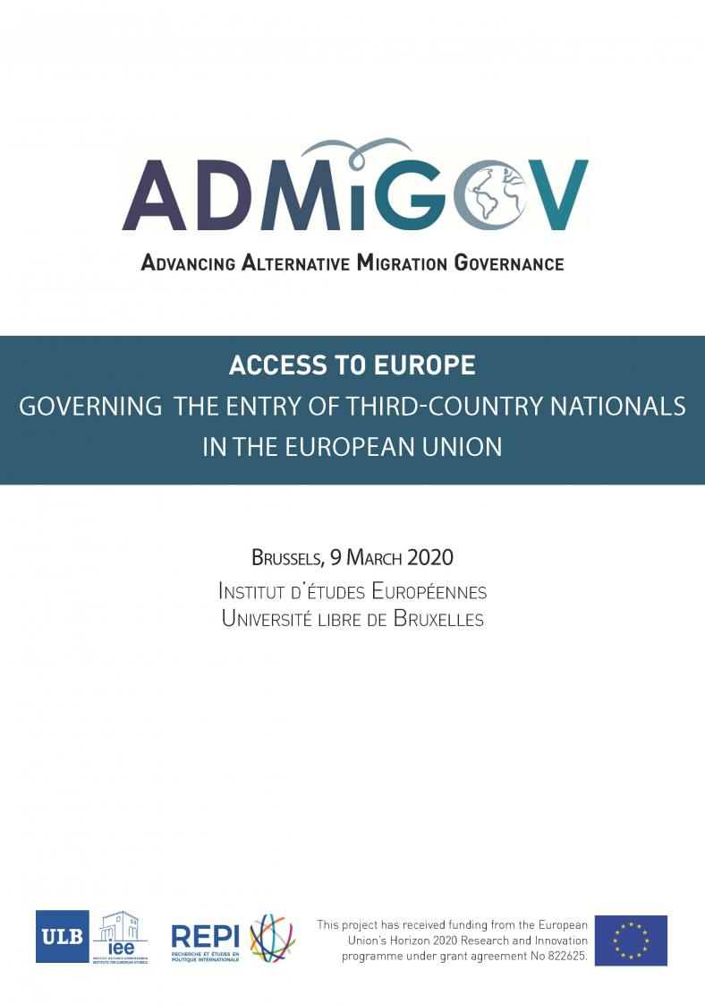 Access to Europe: Governing the entry of third-country nationals in the European Union