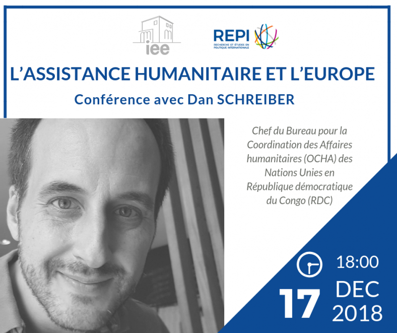 L'assistance humanitaire et l'Europe