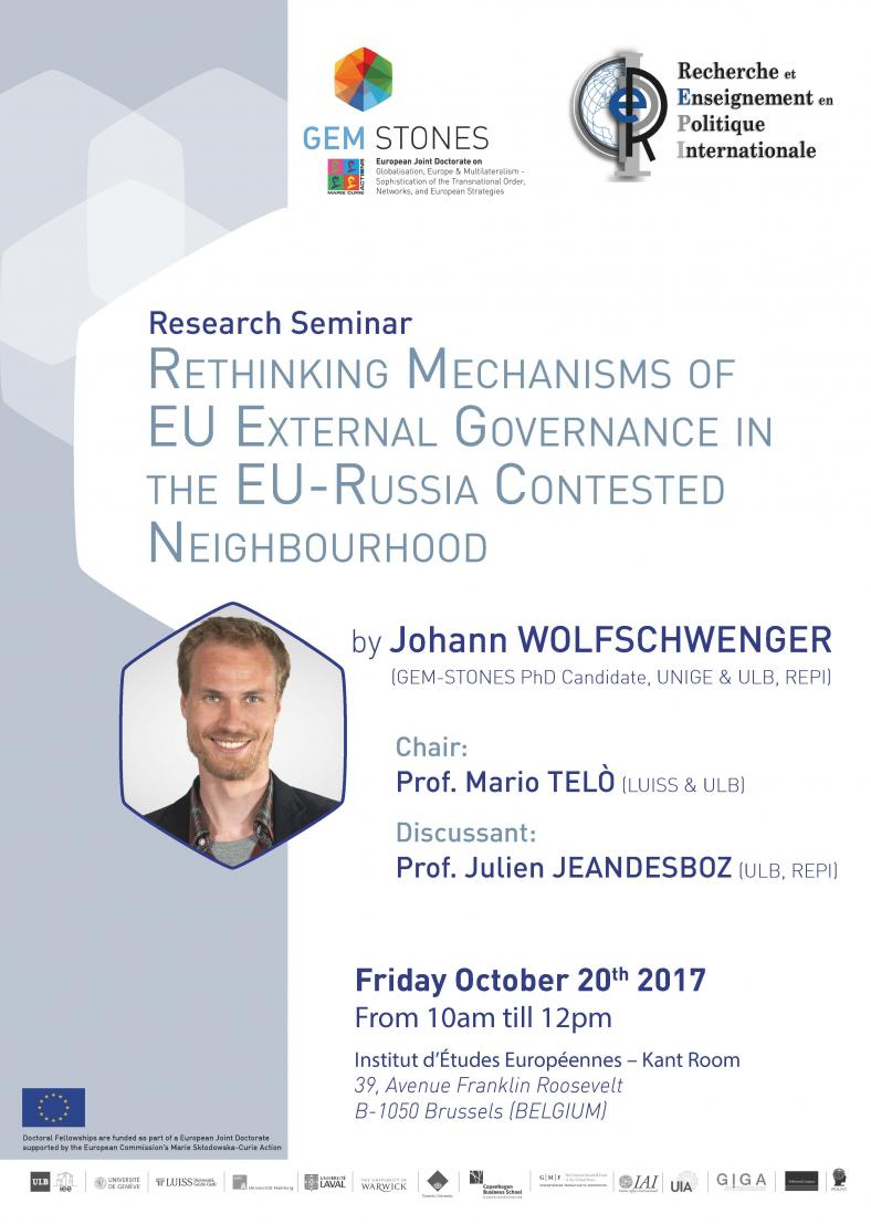 Rethinking Mechanisms of EU External Governance in the EU-Russia Contested Neighbourhood