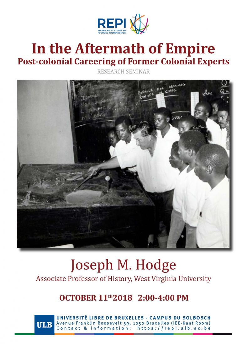 In the Aftermath of Empire: Post-colonial Careering of Former Colonial Experts