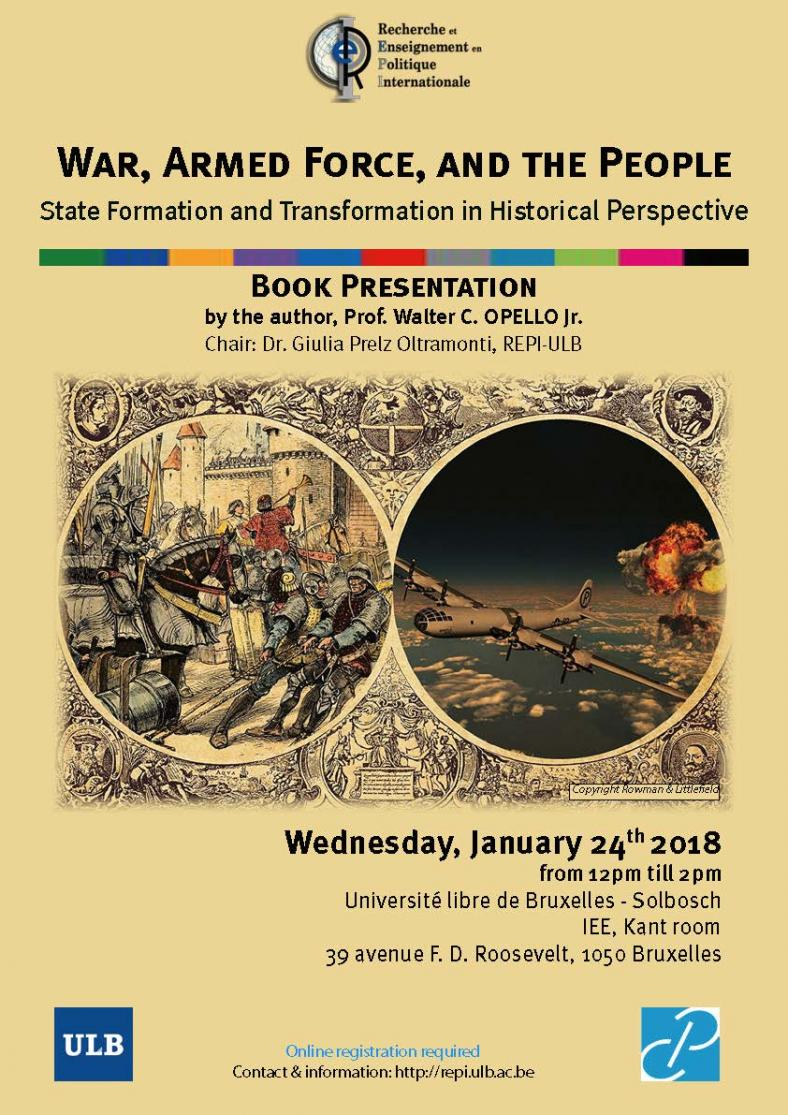 War, Armed Force, and the People: State Formation and Transformation in Historical Perspective