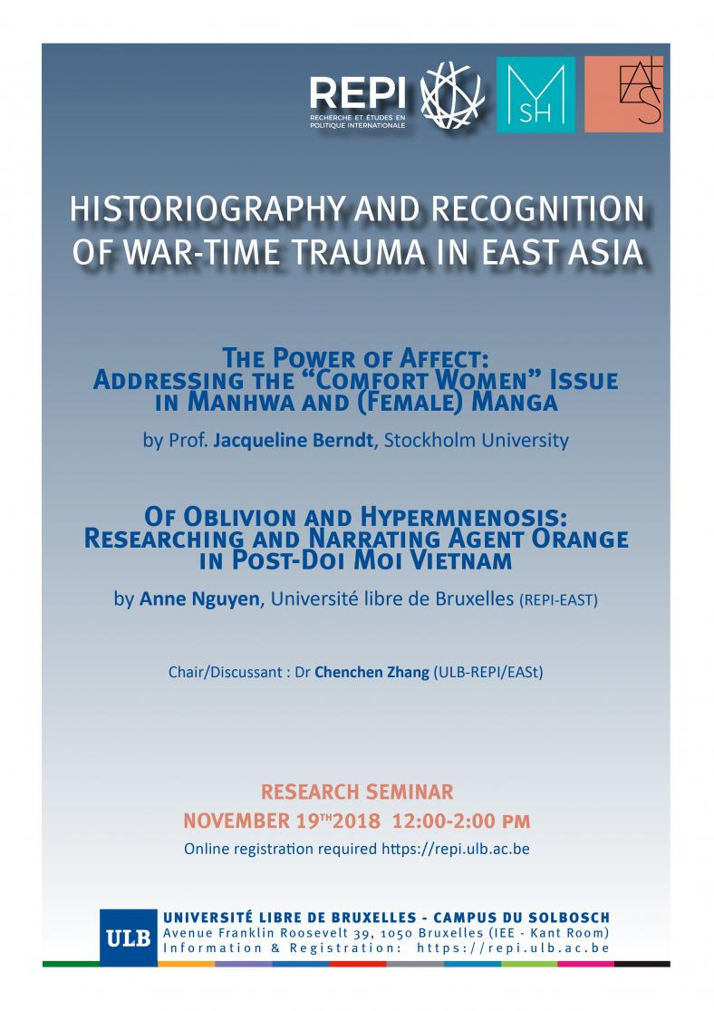 Historiography and Recognition of War-Time Trauma in East Asia