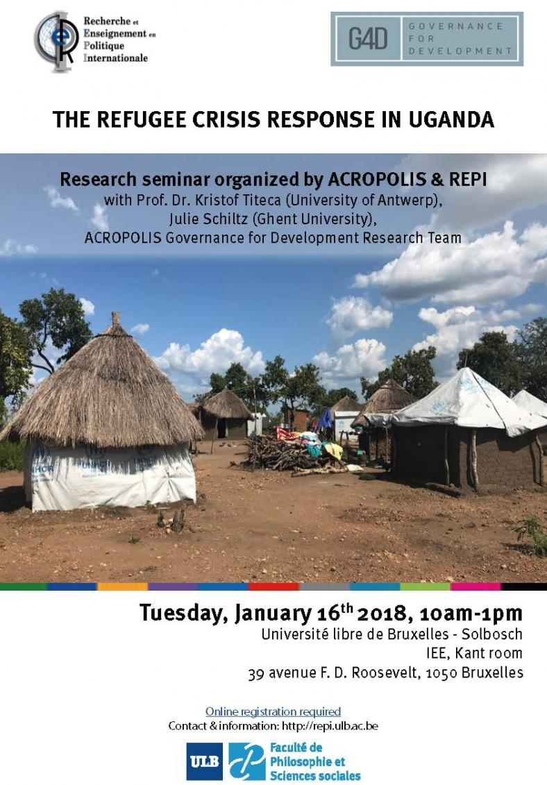 The Refugee Crisis Response in Uganda