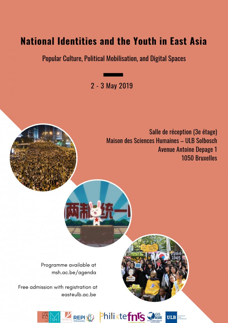 National Identities and the Youth in East Asia : Popular Culture, Political Mobilisation and Digital Spaces